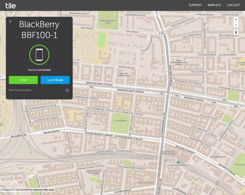 tile, tracker, app