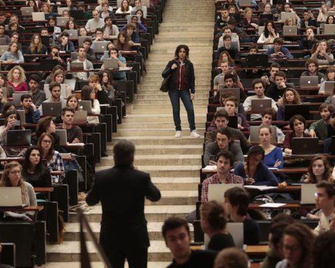 Film, Frankreich, Universität, Rhetorik, Rassismus, Seximus, Paris, Jura, Freiluftkino