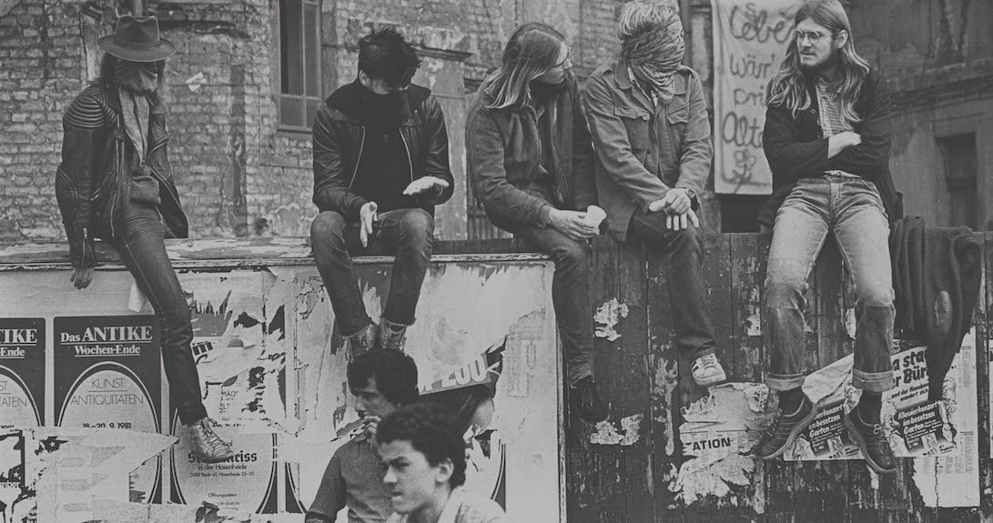 Hausbesetzer, Berlin, 1981, Kreuzberg,