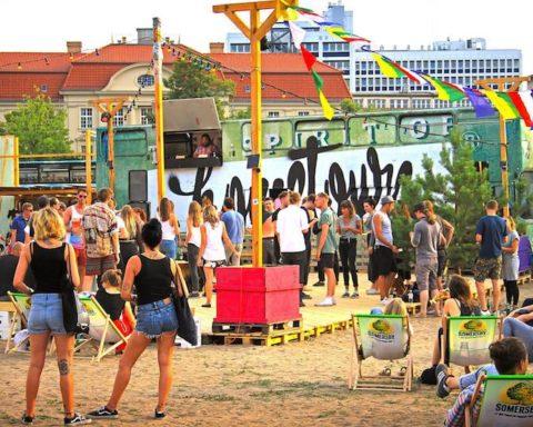 Open-Air, Poetry Slam, Graffiti, Kunst, Performance, Unterhaltung