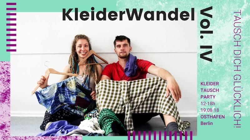 Kleider, Tausch, Party, Musik, Upcycling, Secondhand, Fashion, Mode