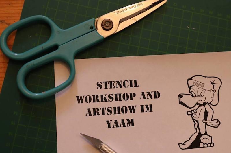 Kunst, Streetart, Workshop, Graffiti, Stencil, Workshop