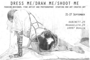 Vernissage, Finissage, Mode, Design, Kunst, Fotografie, Zeichnung