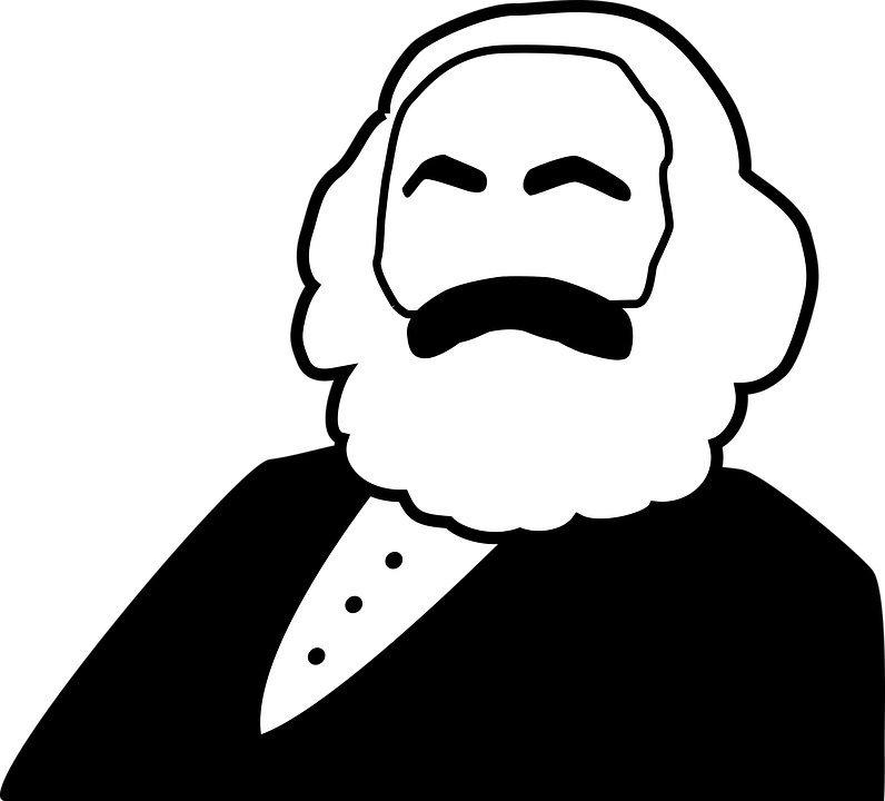 Karl Marx, Kapital, Kapitalismus, Berlin, 030, Magazin