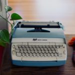 Schreibmaschine, CC0 Public Domain, typewriter, copyright, vintage, retro, 030, 030magazin
