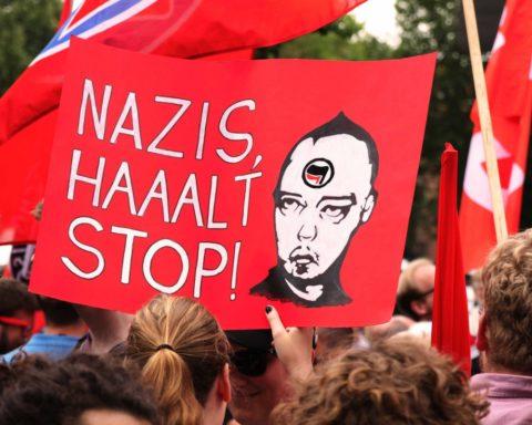 nazi, demonstration, Berlin, Tag der Deutschen Einheit, Deutsche, Einheit, Berlin, 030, Magazin, Credit CC0 Public Domain