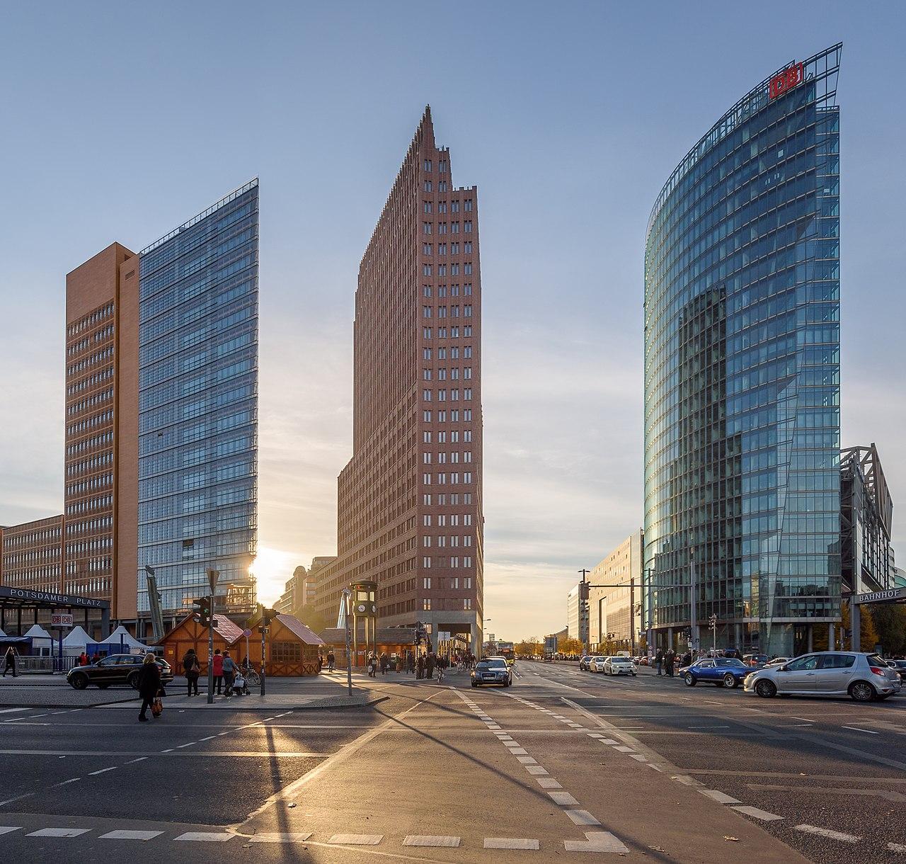 Potsdamer Platz, Locations, Berlin