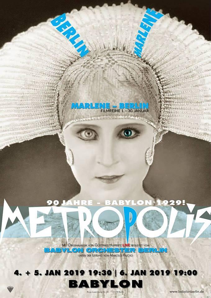 BABYLON, Metropolis, LIVE, Babylon Orchester, Berlin, 030, Film, Kino