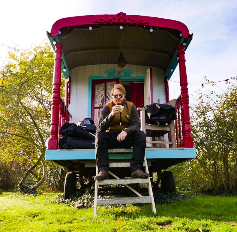 Belgien, Mecheln, Zirkuswagen, Airbnb, Tour, Tracer