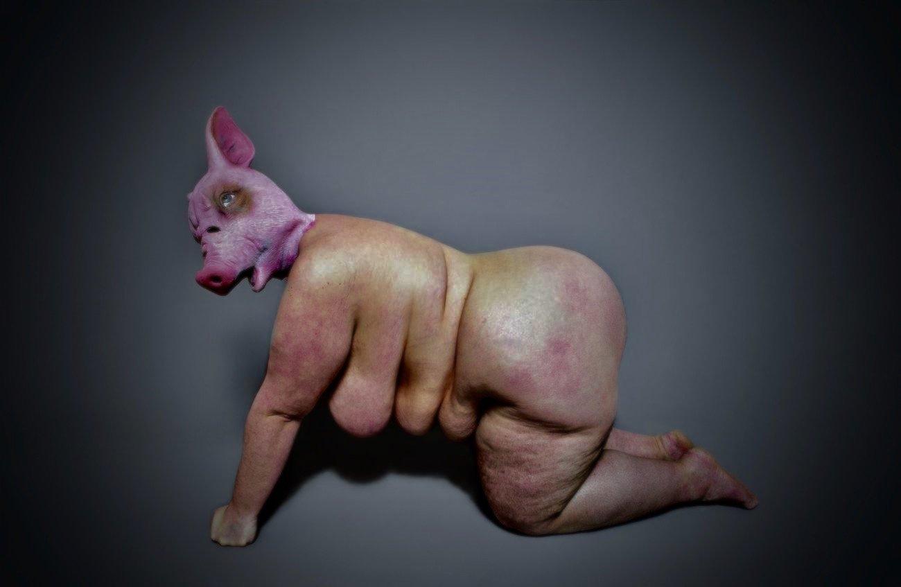 Julischka Stengele, Fat Femme Furious, Galerie im Turm, Berlin, Ausstellung, Kunst, Gesellschaft, Foto, 030 (1)