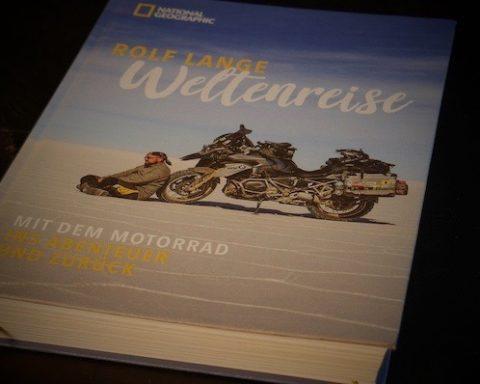 Rolf Lange, Weltenreise, Buch