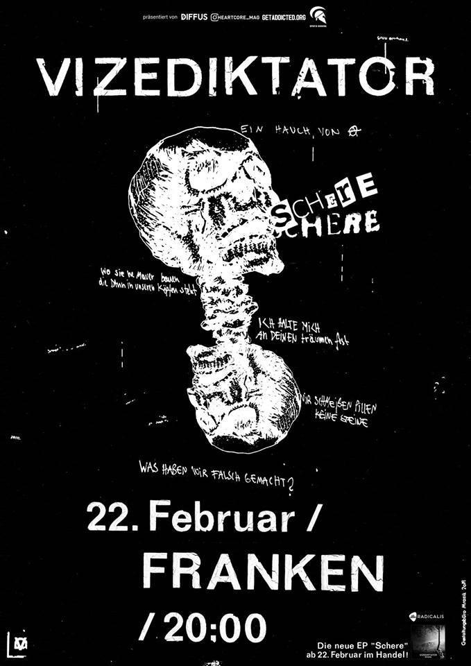 Vizediktator, Franken, Konzert, Live, Musik, Berlin, 030, CREDIT Promo