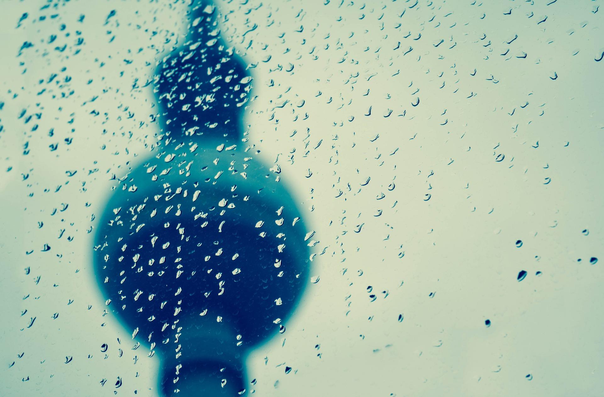 berlin, alexanderplatz, regen