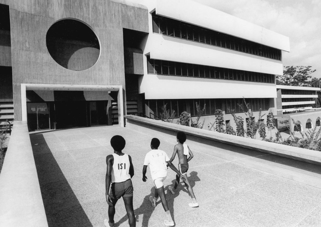 University of Ife in Ile-Ife, Nigeria, Architekten: Arieh Sharon, Eldar Sharon und Harlod Rubin   Foto: © Promo:Arieh Sharon digital archive