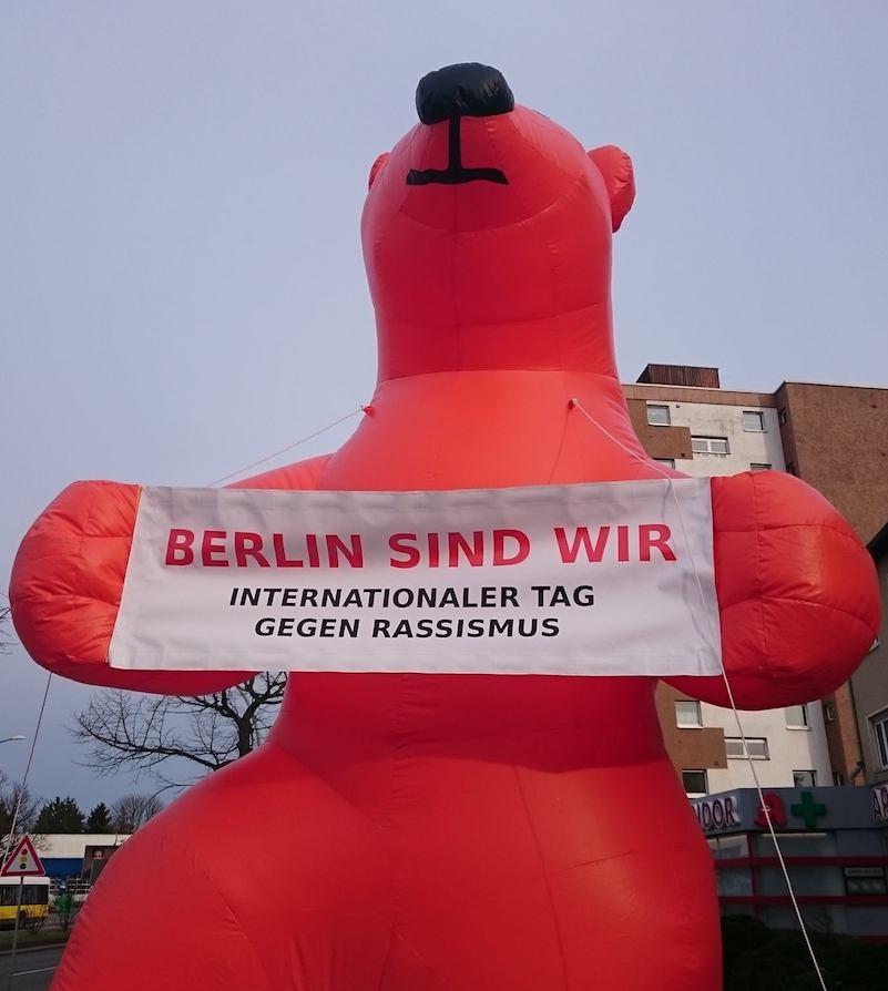 Internationaler Tag gegen Rassismus, Rassismus, Kundgebung, Demonstration, Rudow, Berlin, Antifa
