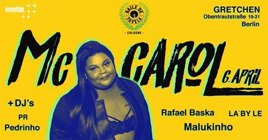 Gretchen, McCarol, Hip Hop, Funk, Brasilien