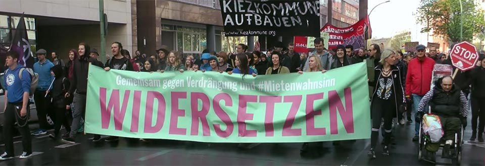 Demo, Alexanderplatz, Berlin, Verdrängung, Gentrifizierung