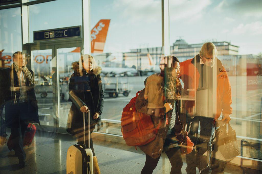 airport, gepäck,