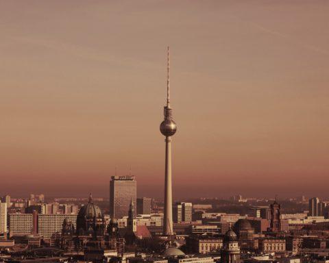 berlin, Alexanderplatz, fernsehturm