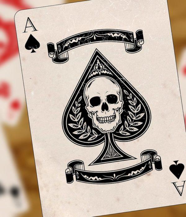 Spielkarten, Glücksspielsucht