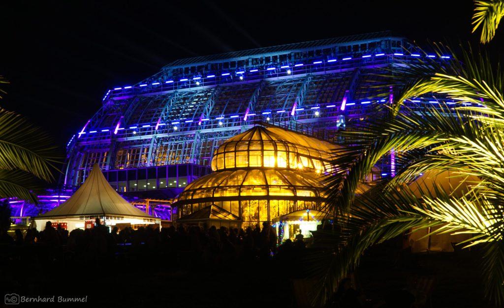Botanik, Botanischer Garten, Nacht, Lichter, Performance, Berlin