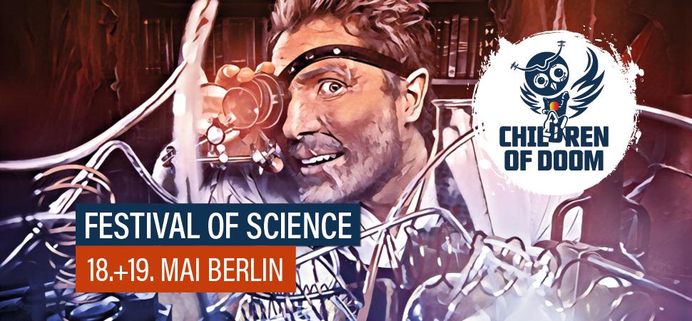 Festival of Science, Wissenschaft, Weltuntergang, Endzeit, Katastrophe, Berlin, Festival
