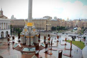Maidan, Kiew, Ukraine, Konflikt