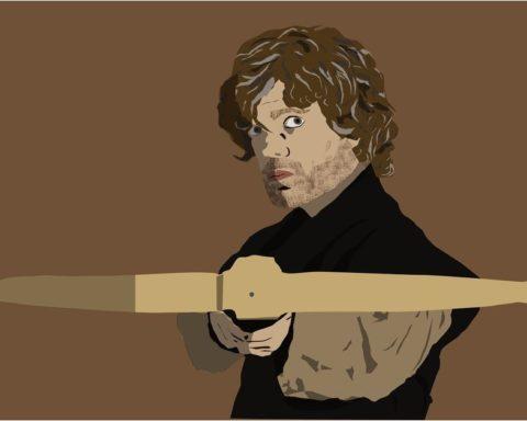 Illustrierter Tyrion Lannister mit Armbrust