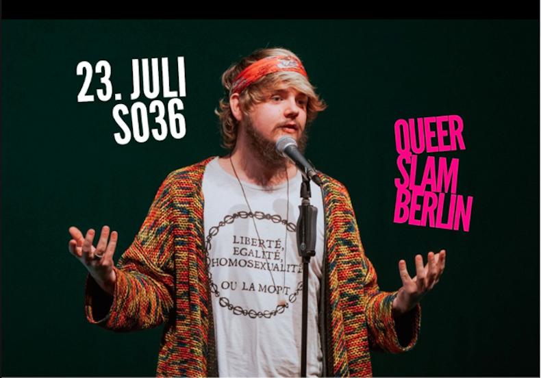 Queer, Slam, Poetry, Kunst, Literatur, SO36