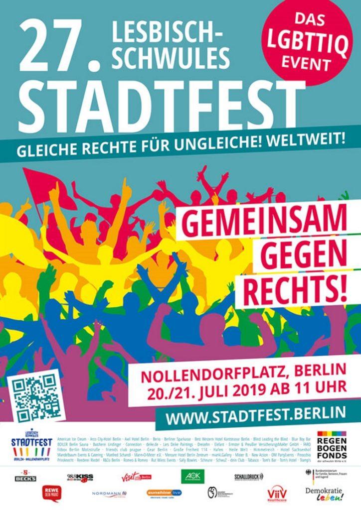 Stadtfest, LGBTQI*, Gay, Lesbian, Schöneberg