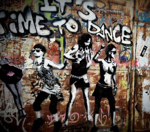 Fehler, Party, Abend, Berlin, Mural