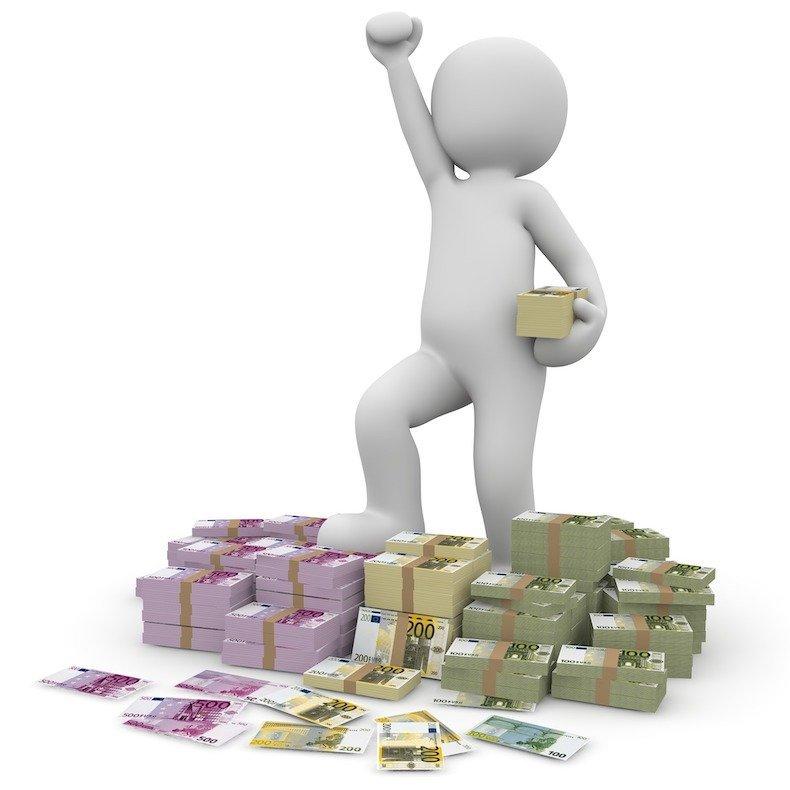 Geld, Gewinn, Online, Casino