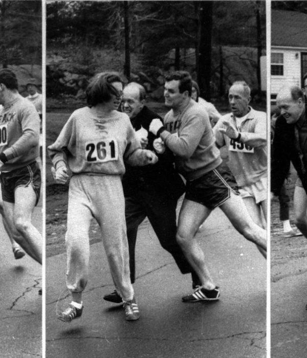 Boston, Kathrine Switzer, Marathon