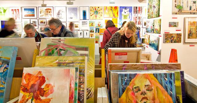 Kunstsupermarkt, Impressionen