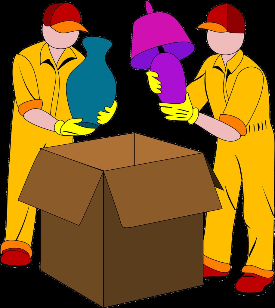 umzug, möbelpacker