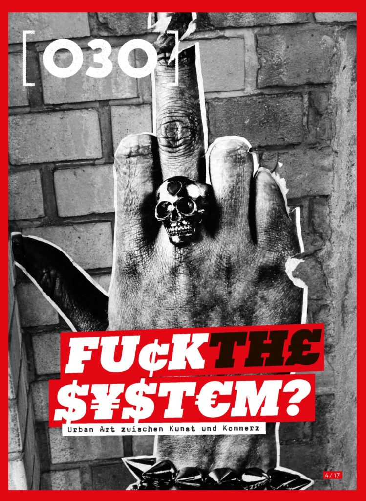 Fuck the System, 030, cover