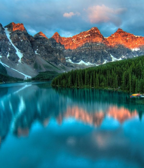 Alberta See, Kanada, Panorama