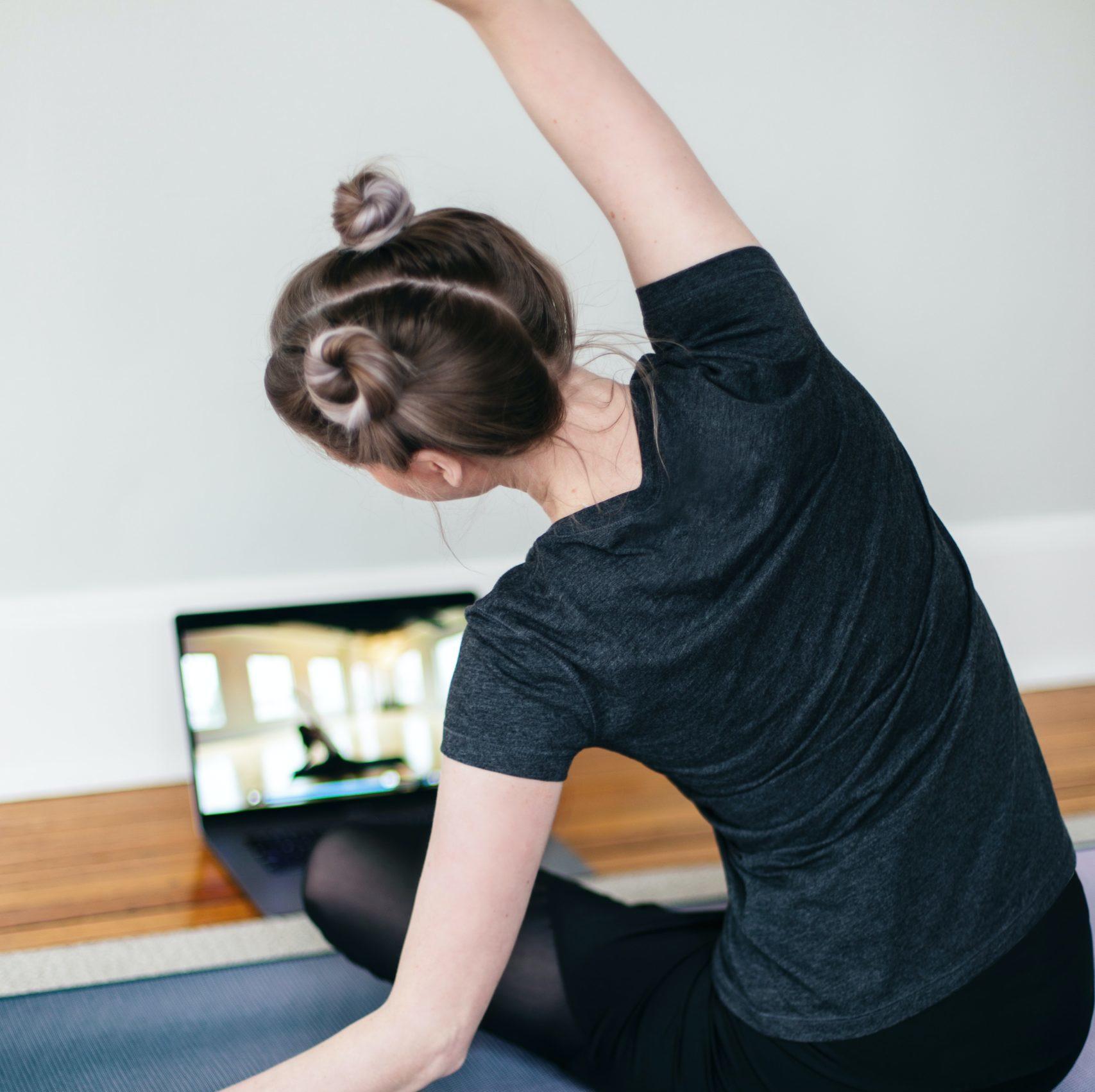 Yoga, Video, zu Hause, Bewegung