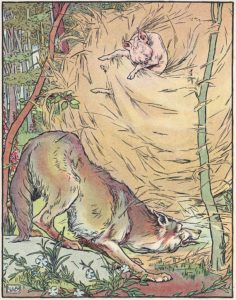 Drei kleine Schweinchen, Wolf, Märchen