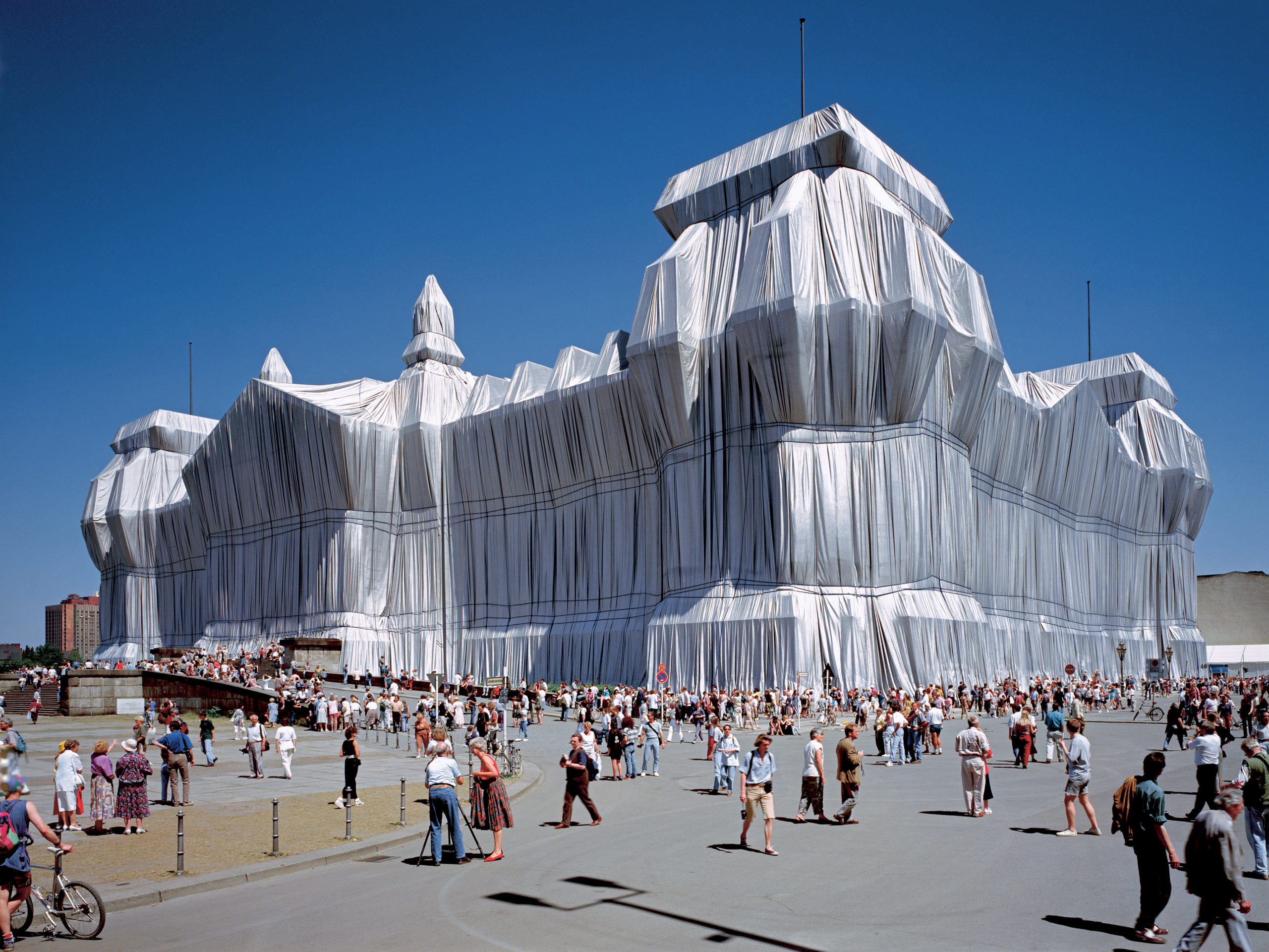 Christo and Jeanne-Claude, Reichstag, 1995, Kunst, Berlin