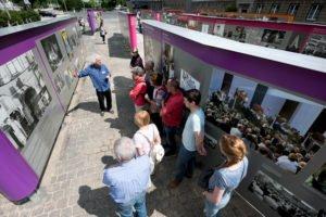 Mauerfall, Revolution, Open-Air-Ausstellung, Stasi Zentrale