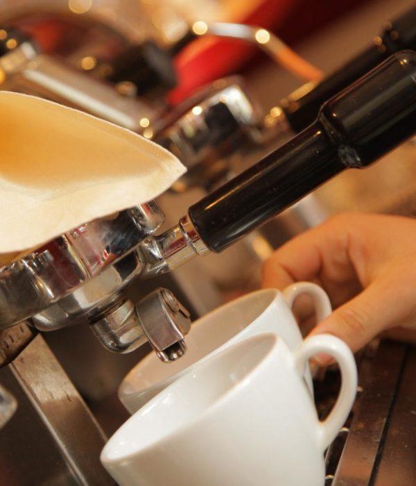 Kaffee, Maschine, Barista
