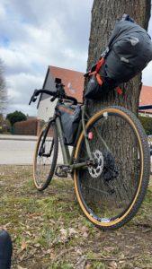 Fahrrad an die Ostsee