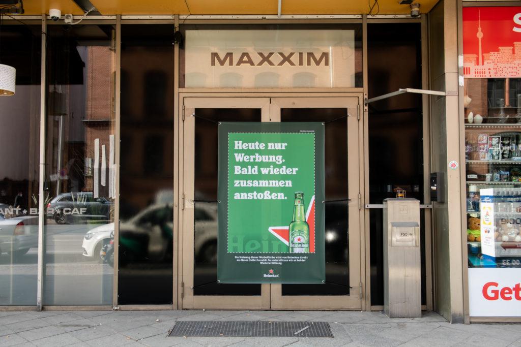 Heineken®, Werbung, Shutters