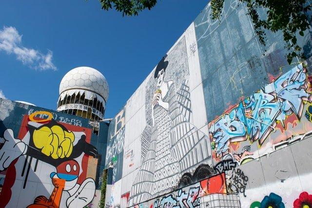 Abhöranlage am Berliner Teufelsberg