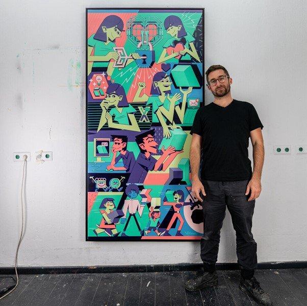 Vidam, Künstler Berlin
